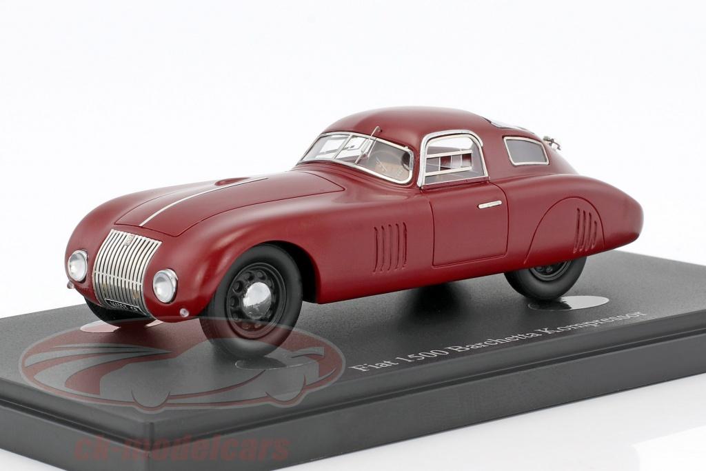 autocult-1-43-fiat-1500-barchetta-kompressor-year-1943-red-04013/