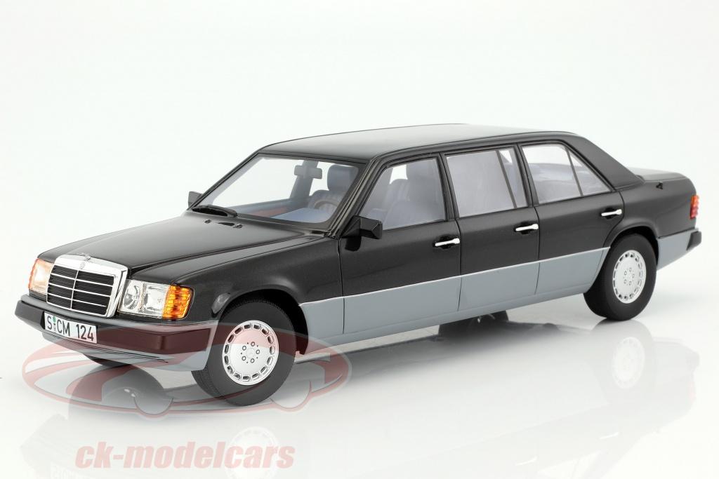 cult-scale-models-1-18-mercedes-benz-e-klasse-w124-long-year-1990-black-gray-cml012-1/
