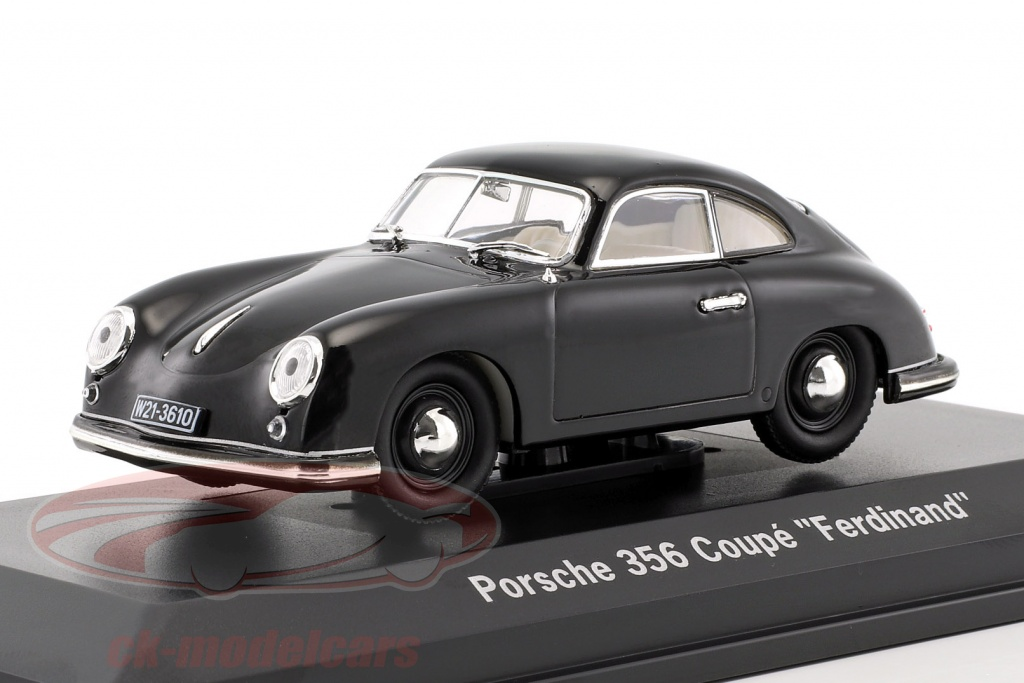 lucky-diecast-1-43-porsche-356-coupe-ferdinand-year-1950-black-map01935217/