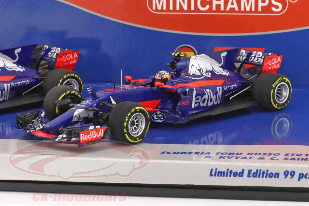 minichamps-1-43-kvyat-no26-sainz-no55-2-car-set-toro-rosso-str12-formula-1-2017-472172655/