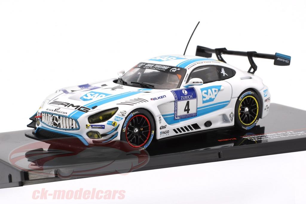 ixo-1-43-mercedes-benz-amg-gt3-equipe-black-falcon-no4-gagnant-24h-nuerburgring-2016-gtm112/