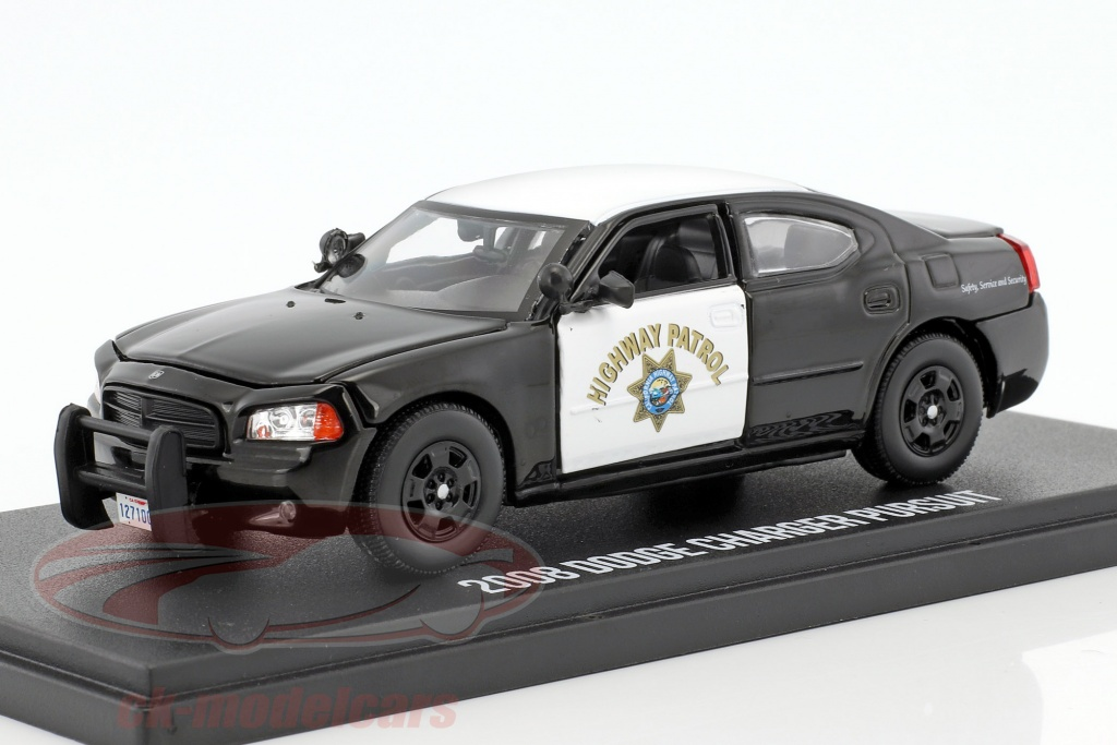 greenlight-1-43-dodge-charger-pursuit-california-highway-patrol-annee-de-construction-2008-noir-blanc-86087/