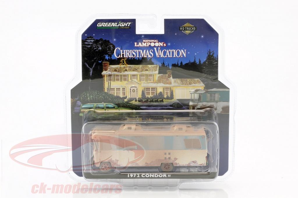 greenlight-1-64-condor-ii-rv-ano-de-construccion-1972-pelcula-national-lampoons-christmas-vacation-1989-33100a/