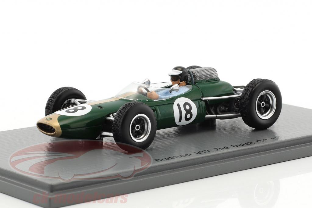 spark-1-43-dan-gurney-brabham-bt7-no18-2nd-hollandsk-gp-formel-1-1963-s5250/