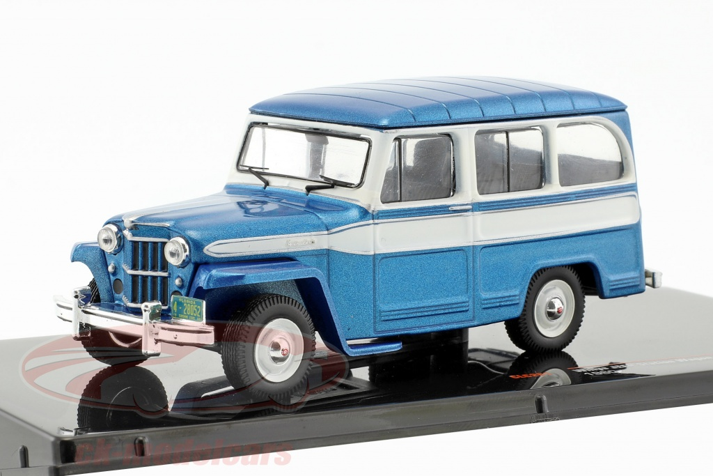 ixo-1-43-willys-jeep-station-wagon-annee-de-construction-1960-bleu-blanc-ixoclc261/