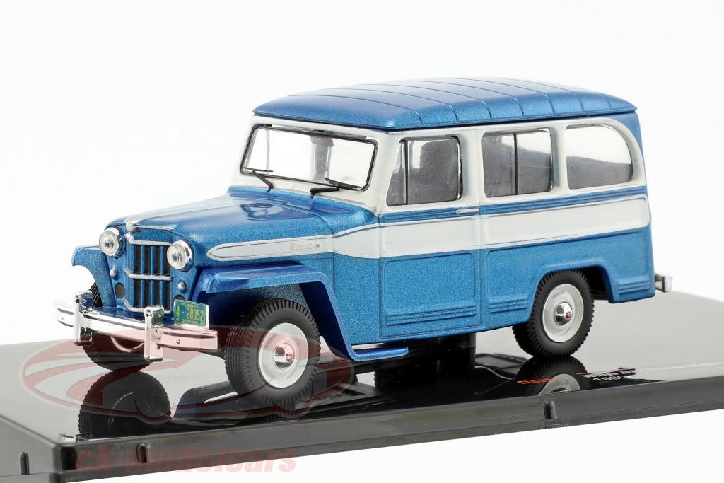 ixo-1-43-willys-jeep-station-wagon-anno-di-costruzione-1960-blu-bianco-ixoclc261/