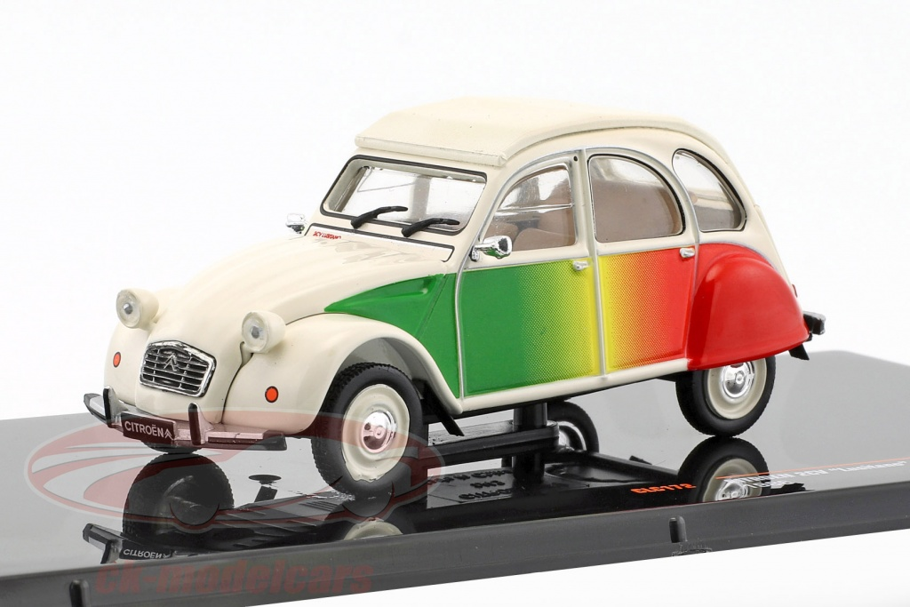ixo-1-43-citroen-2cv-lusitano-year-1986-beige-green-red-ixoclc172/
