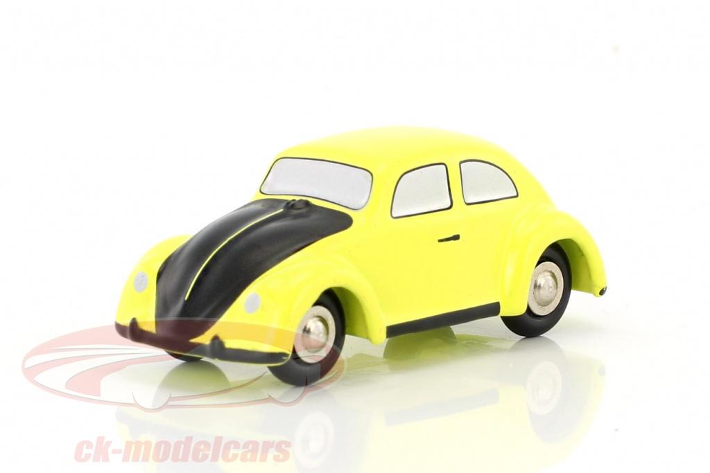 schuco-1-90-volkswagen-vw-scarafaggio-giallo-nero-piccolo-450561500/