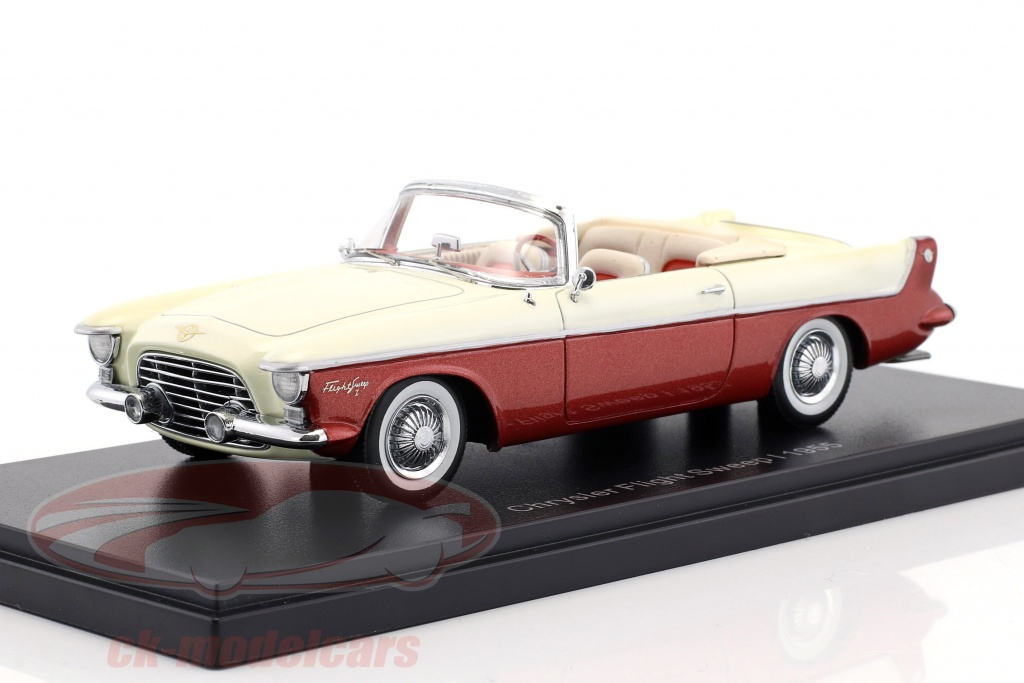 neo-1-43-chrysler-flight-sweep-i-year-1955-white-red-metallic-neo46590/