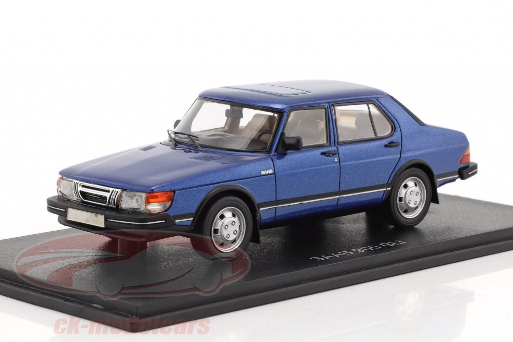 neo-1-43-saab-900-gli-baujahr-1981-blau-metallic-neo43652/