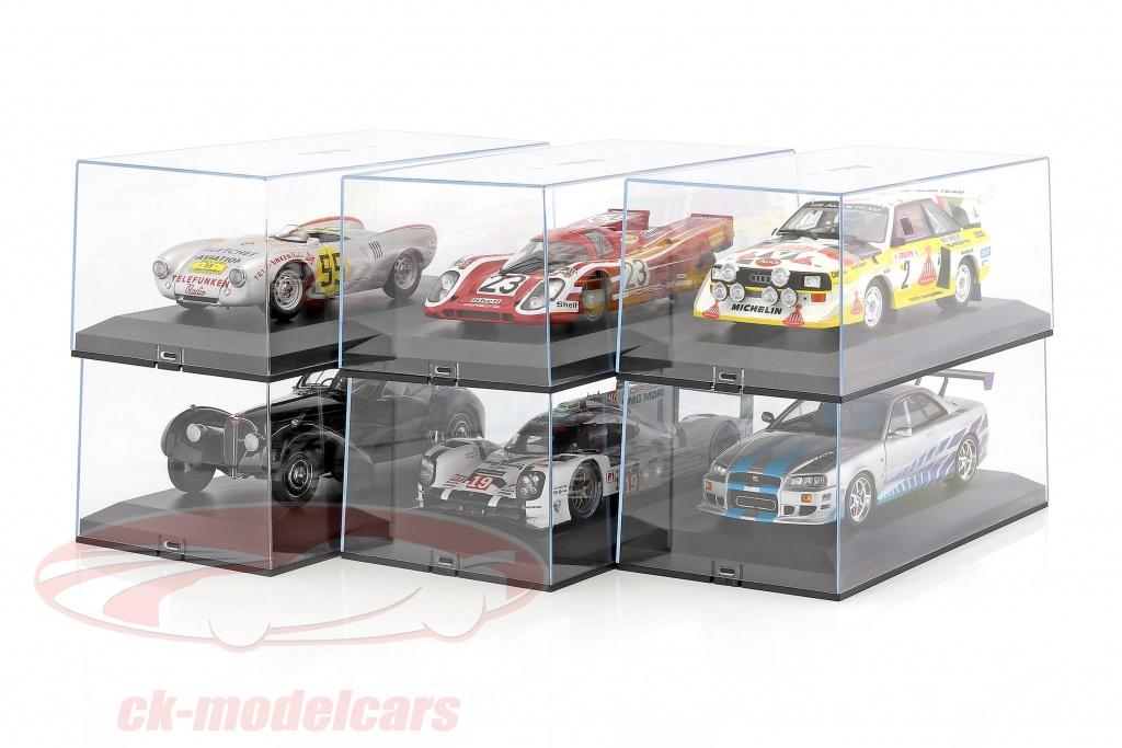 6er Karton Exclusiv Cars Vitrinen Fur Modellautos 1 18 6erexlcar