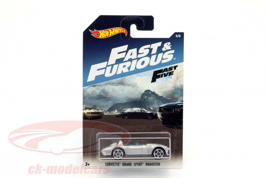 hotwheels-1-64-chevrolet-corvette-grand-sport-roadster-film-fast-furious-five-2011-argent-metallique-dwf76/
