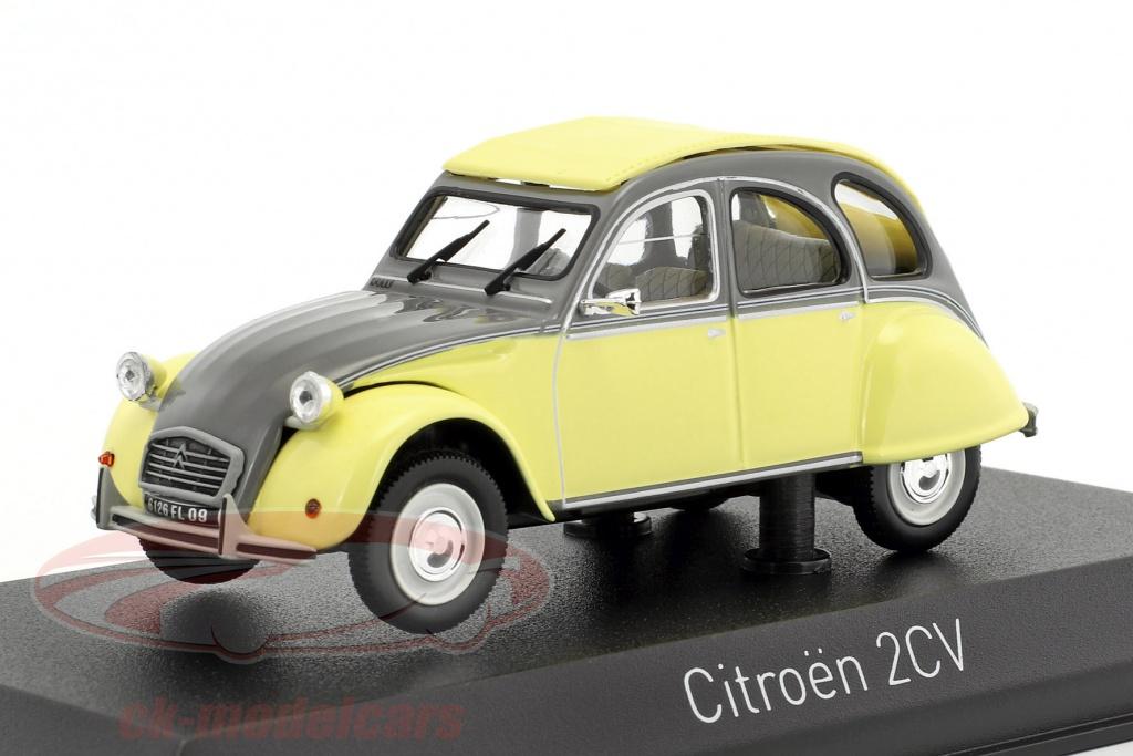 norev-1-43-citroen-2cv-dolly-year-1985-rialto-yellow-cormoran-gray-151398/