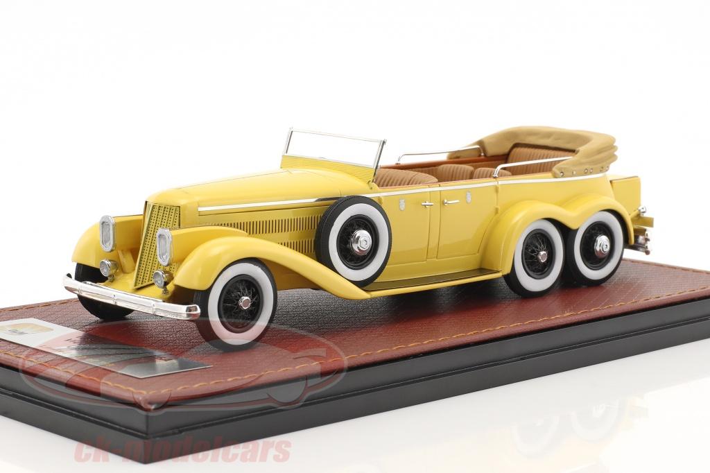 great-lighting-models-1-43-hispano-suiza-h6a-victoria-town-car-ouvert-version-annee-de-construction-1923-jaune-glm43215002/