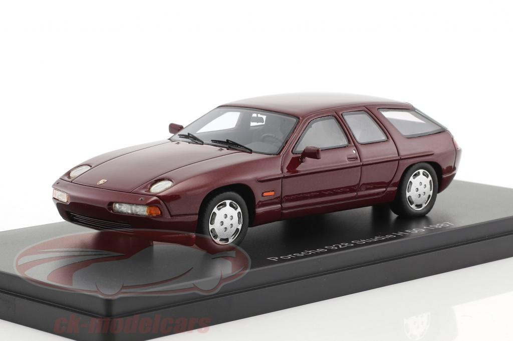 neo-1-43-porsche-928-studie-h50-concept-car-baujahr-1987-dunkelrot-metallic-neo47130/