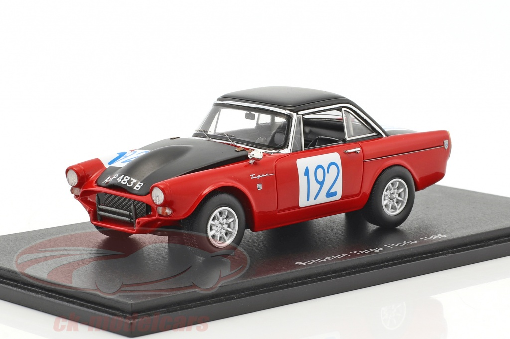spark-1-43-sunbeam-tiger-no192-targa-florio-1965-harper-jones-s4062/