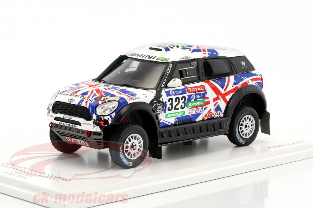true-scale-1-43-mini-all4-racing-no323-rallye-dakar-2016-hunt-schulz-tsm430238/