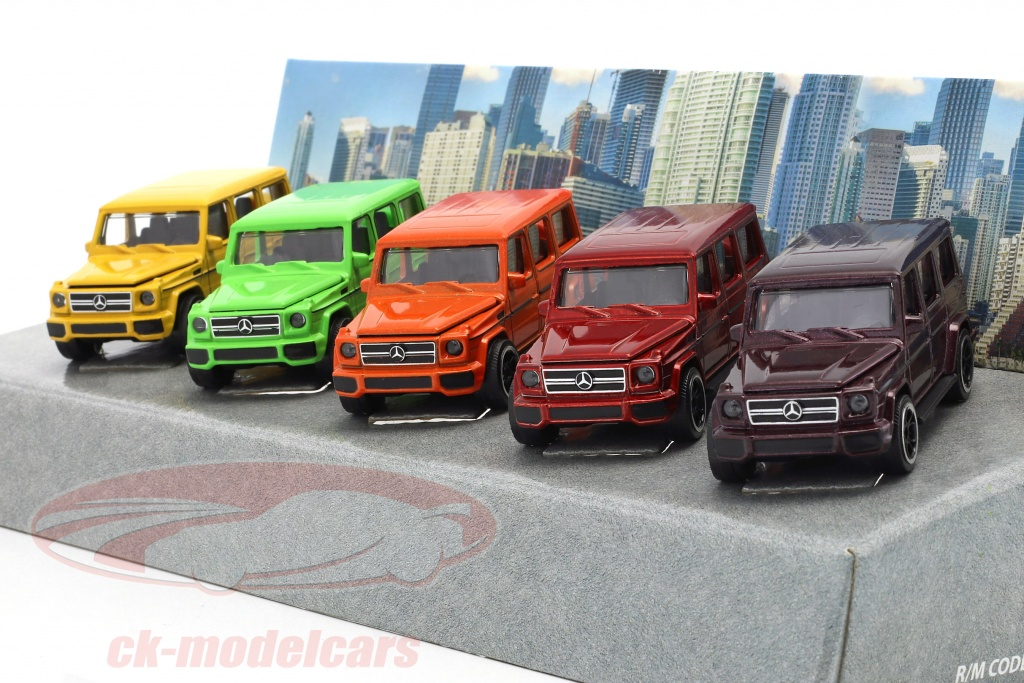 majorette-1-64-5-car-set-mercedes-benz-amg-g63-kleur-editie-gift-pack-212053165/