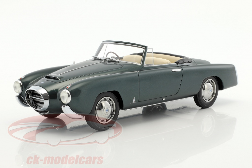 bos-models-1-18-lancia-aurelia-pf200-cabriolet-bouwjaar-1953-donkergroen-metalen-bos262/
