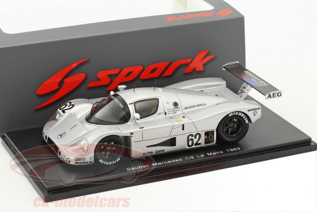 spark-1-43-sauber-mercedes-c9-no62-5-24h-lemans-1989-schlesser-jabouille-cudini-s4763/