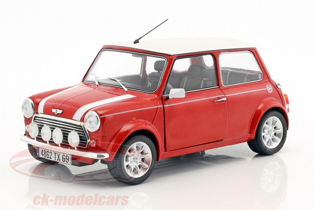 solido-1-18-mini-cooper-13i-sport-pack-annee-de-construction-1997-rouge-metallique-blanc-s1800602/