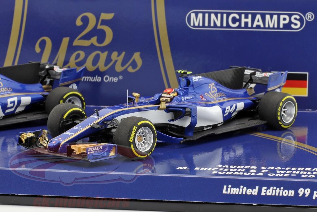 minichamps-1-43-m-ericsson-no9-p-wehrlein-no94-2-car-set-sauber-c36-formula-1-2017-472170994/