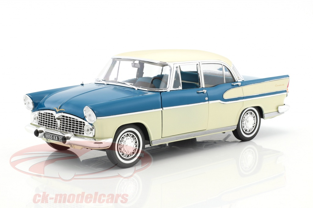 norev-1-18-simca-vedette-chambord-year-1960-tropic-green-china-ivory-185727/