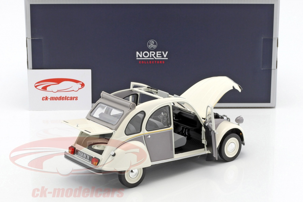 norev 1 18 citroen 2cv dolly ann u00e9e de construction 1985
