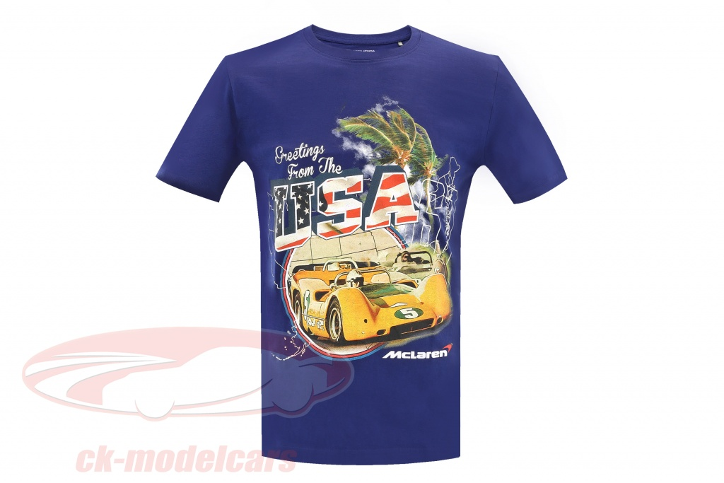 mclaren-greetings-from-usa-can-am-t-shirt-bleu-mh4026s/s/