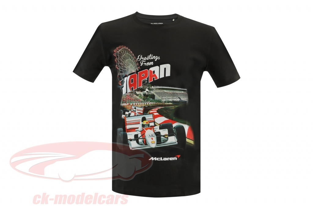 mclaren-greetings-from-japan-ayrton-senna-f1-1993-maglietta-nero-mh4025s/s/