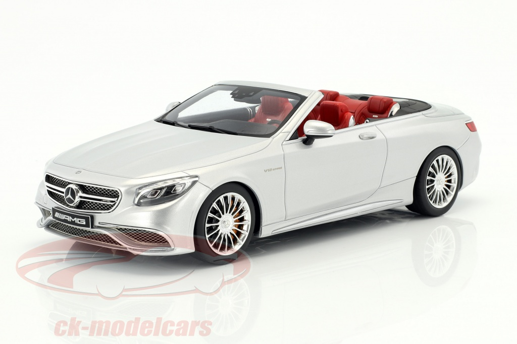gt-spirit-1-18-mercedes-benz-amg-s-65-convertible-annee-de-construction-2017-argent-metallique-gt764/