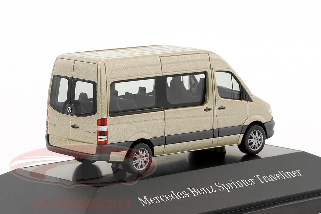 39f0f1f476ef Herpa 1 87 Mercedes-Benz Sprinter Kombi silver Pearl metálico ...