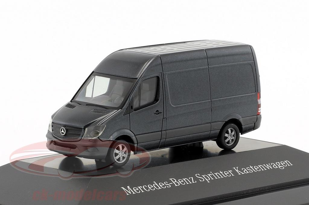 herpa-1-87-mercedes-benz-sprinter-van-tenorite-gray-metallic-b66004636/