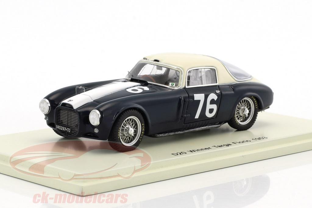 spark-1-43-lancia-d20-no76-winner-targa-florio-1953-umberto-maglioli-43tf53/