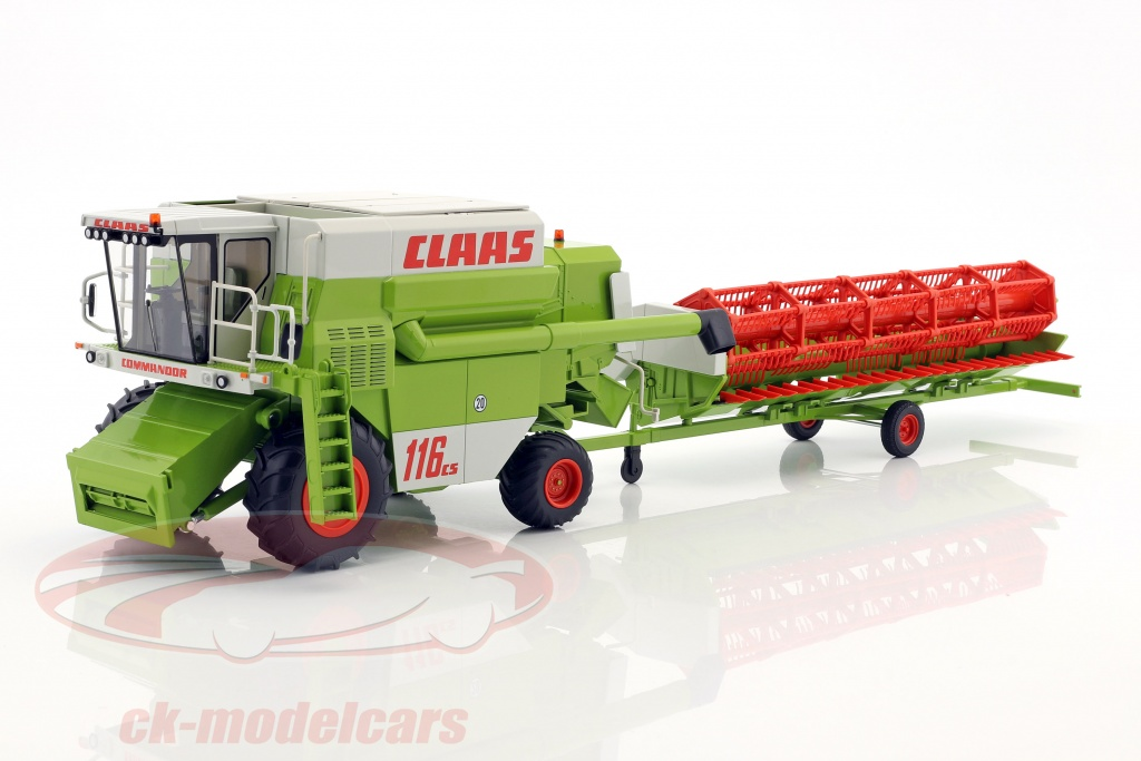 wiking-1-32-claas-commandor-116-cs-harvester-green-white-red-7834/
