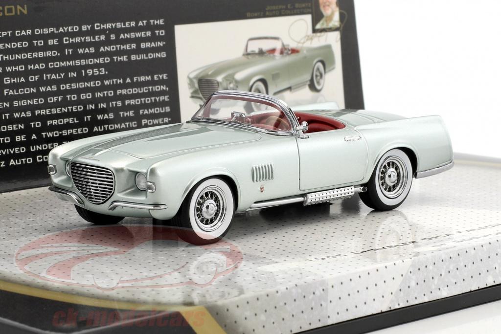 minichamps-1-43-chrysler-ghia-falcon-year-1955-silver-green-metallic-437143030/