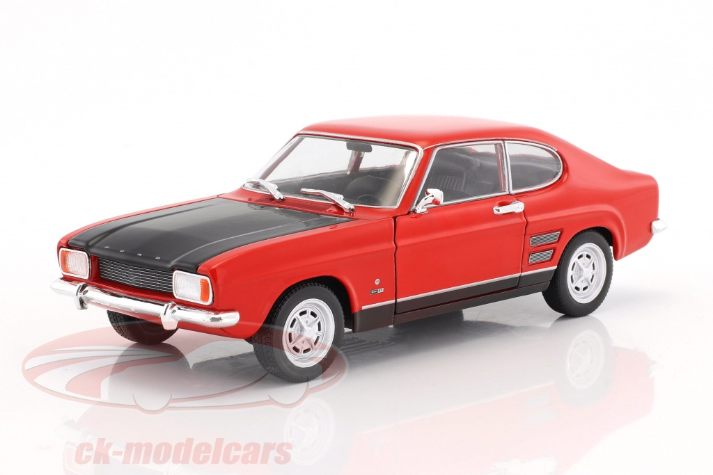 welly-1-24-ford-capri-rs-year-1969-red-black-24069/