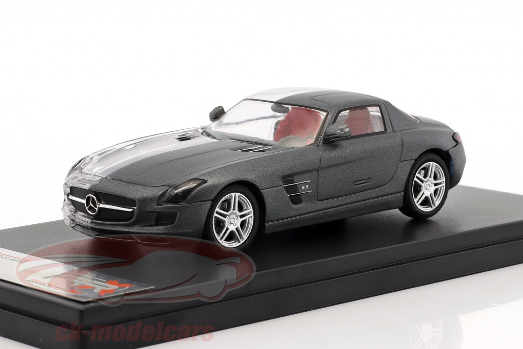 premium-x-1-43-mercedes-benz-sls-amg-construction-year-2011-frosted-gray-transparent-prx001le/