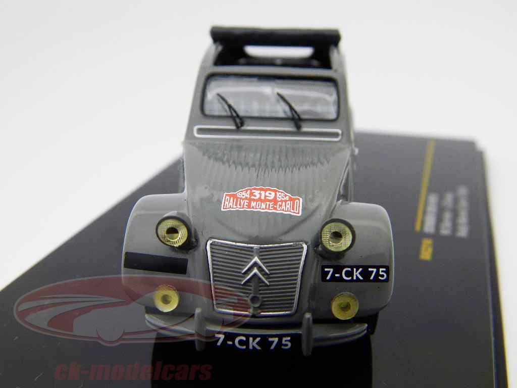ixo-1-43-citroen-2cv-no319-m-bernier-j-duvey-monte-carlo-rally-1954-rac214/