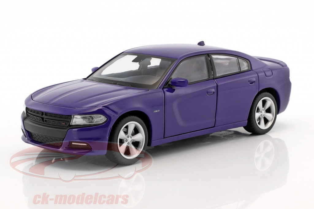 welly-1-24-dodge-charger-r-t-year-2016-purple-blue-24079/