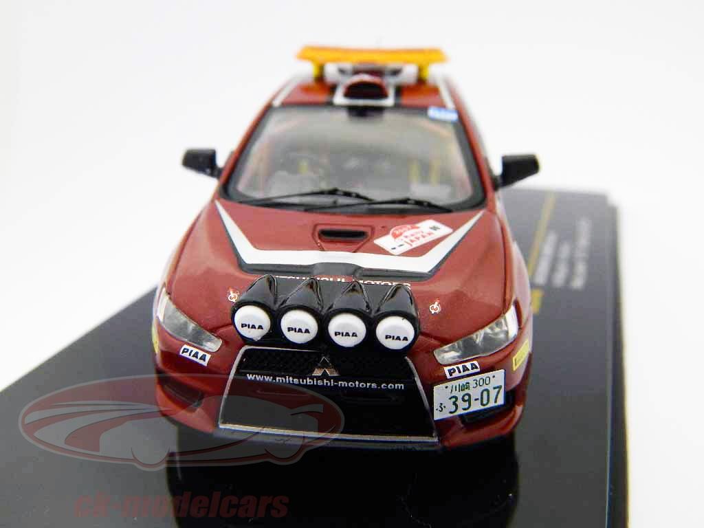 ixo-1-43-mitsubishi-lancer-evo-x-no00-rallye-du-japon-2007-voiture-de-securite-ram449/