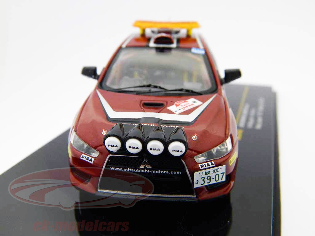 ixo-1-43-mitsubishi-lancer-evo-x-rally-japan-2007-no00-safety-car-ram449/