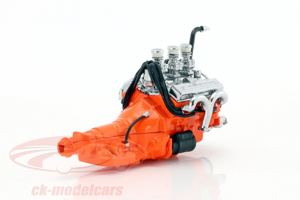 greenlight-1-18-custom-ford-327-year-1932-small-block-engine-with-transmission-12977/