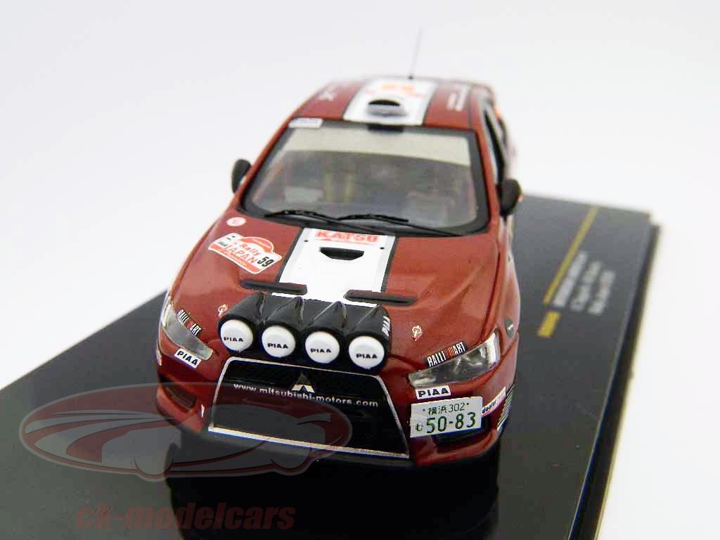 ixo-1-43-mitsubishi-lancer-evo-x-no59-rallye-japan-2008-ram448/