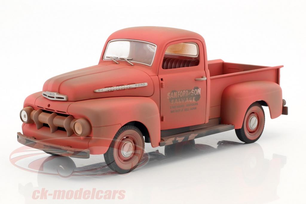 greenlight-1-18-ford-f-1-pick-up-baujahr-1952-tv-serie-sanford-son-1972-77-rot-12997/