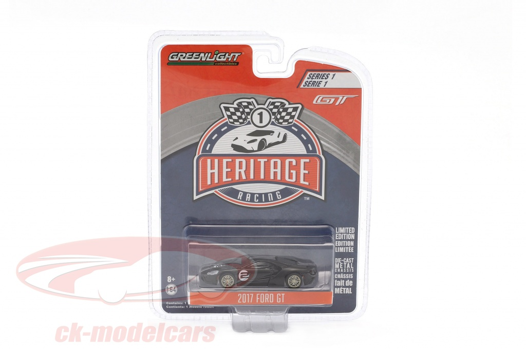 greenlight-1-64-ford-gt-annee-de-construction-2017-no2-ford-mk-ii-1966-hommage-racing-heritage-series-noir-13200-a/