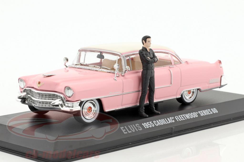 greenlight-1-43-cadillac-fleetwood-series-60-baujahr-1955-pink-mit-figur-elvis-presley-86436/