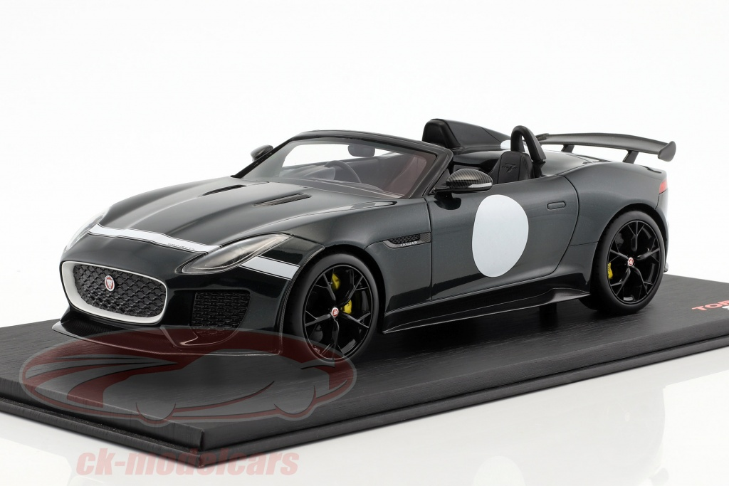 true-scale-1-18-jaguar-f-type-project-7-british-racing-baujahr-2015-gruen-metallic-ts0033/