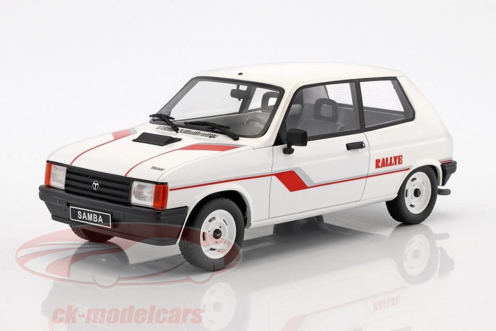 ottomobile-1-18-talbot-samba-rallye-anno-di-costruzione-1983-bianco-ot694/