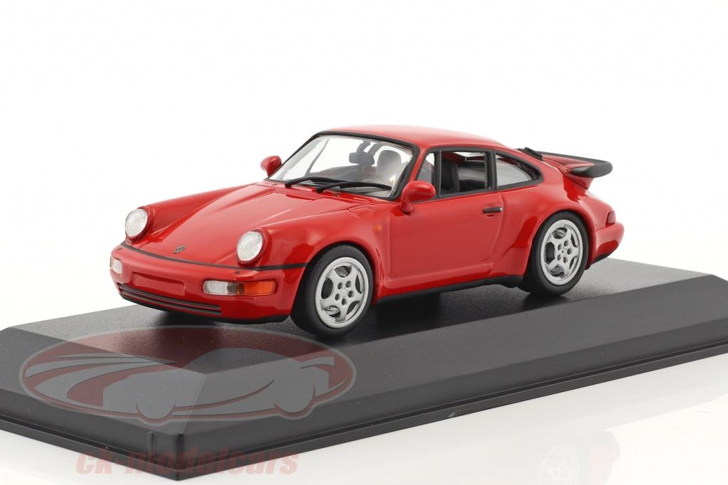 minichamps-1-43-porsche-911-964-turbo-anno-di-costruzione-1990-rosso-940069102/
